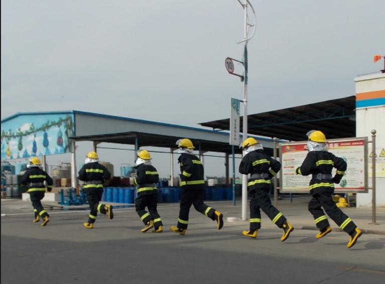 2019年6月公司举办消防演练
