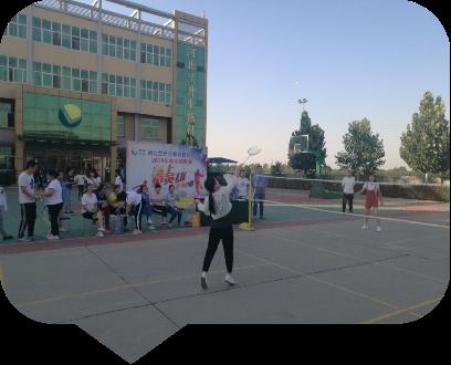 河北千赢国际app下载2019羽毛球赛如火如荼进行!